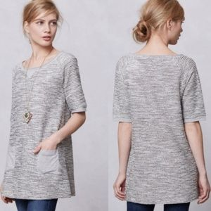 Meadow Rue | Metallic Boucle Tweed Tunic